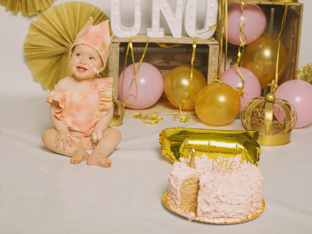 Candela smash cake foto 8